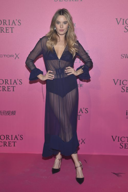 PARIS, FRANCE - NOVEMBER 30: Camille Rowe attends the 2016 Victoria's Secret Fashion Show after party on November 30, 2016 in Paris, France. (Photo by Pascal Le Segretain/Getty Images for Victoria's Secret)