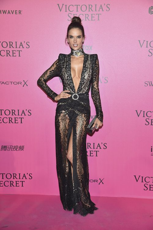 PARIS, FRANCE - NOVEMBER 30: Alessandra Ambrosio attends the 2016 Victoria's Secret Fashion Show after party on November 30, 2016 in Paris, France. (Photo by Pascal Le Segretain/Getty Images for Victoria's Secret)
