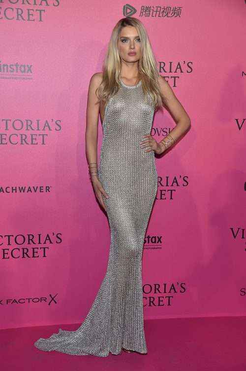 PARIS, FRANCE - NOVEMBER 30: Lily Donaldson attends the 2016 Victoria's Secret Fashion Show after party on November 30, 2016 in Paris, France. (Photo by Pascal Le Segretain/Getty Images for Victoria's Secret)