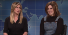 Se Jennifer Aniston afbryde Vanessa Bayers rammende Rachel-parodi hos 'Saturday Night Live'