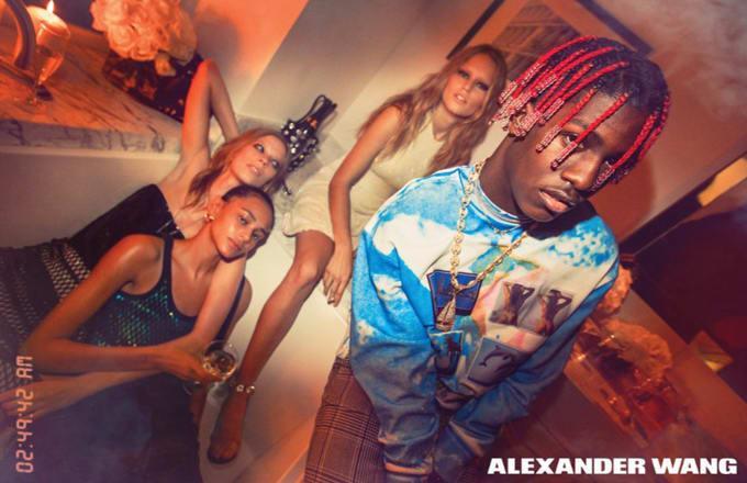 Lil Yachty i Alexander Wang-kampagne