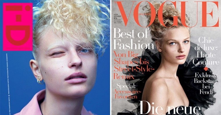 Dansk model er blandt de ti mest brugte kvinder på magasinforsiderne i år