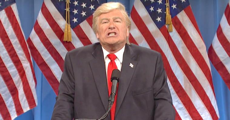 Donald Trump forsøgte at pudse Justitsministeriet på 'Saturday Night Live'