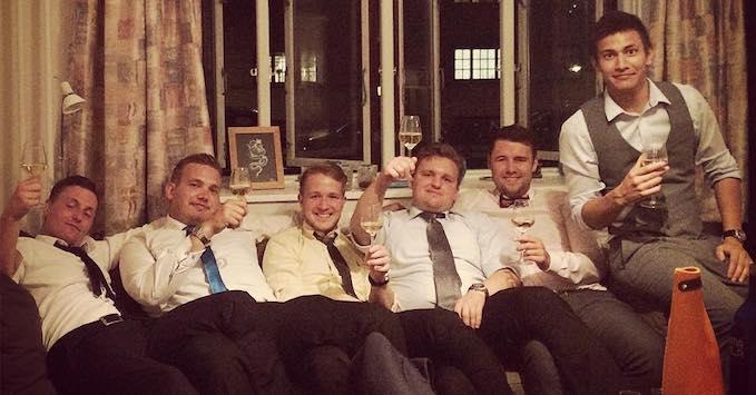 Logens medlemmer: René, Morten, Nicklas, Daniel, Danni og Nick