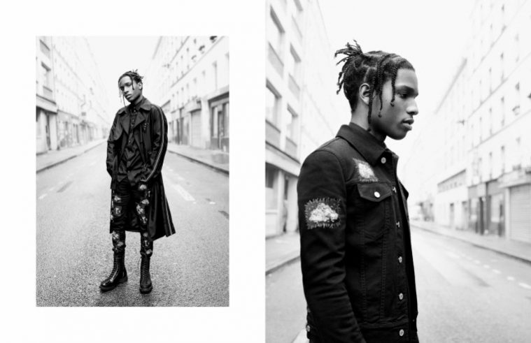 A$AP Rocky for Dior Homme SS17