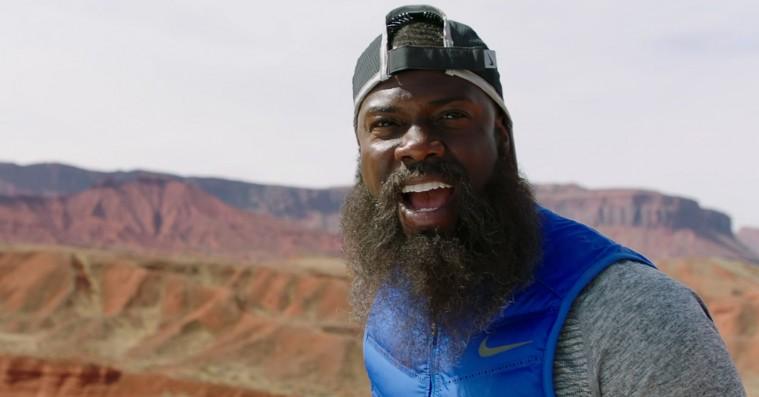 Kevin Hart leger Forrest Gump i ny Nike-reklame