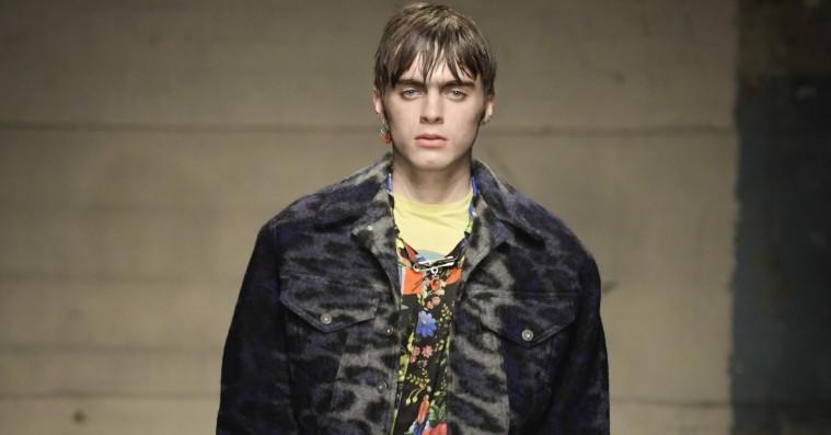 Liam Gallaghers søn indtog catwalken for første gang i London