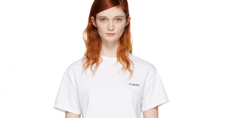 Vetements tager igen pis på moden – sælger meta-t-shirt til 900 kroner