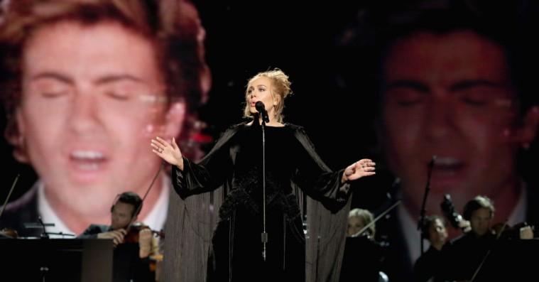 Grammy: George Michael-hyldest skulle oprindeligt have været med Adele, Beyoncé og Rihanna