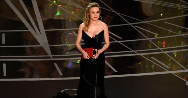 Brie Larson slår sin Casey Affleck-protest under Oscar fast i nyt interview