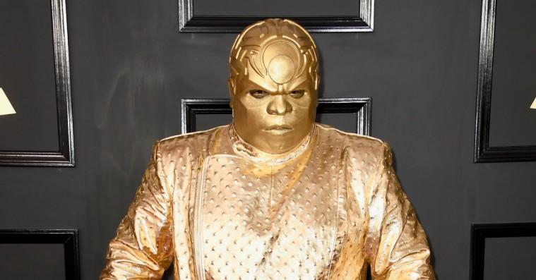 CeeLo Greens mærkværdige kostume endte som Grammy-uddelingens bedste meme