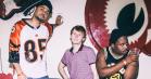 Hold øje med hiphoptrioen Injury Reserve: Vindskæv og crunk-refererende underdog-rap