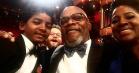 Oscar-stjernernes Instagrams inkluderer toiletselfies og fredsmægling mellem Damon og Kimmel