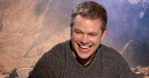 Matt Damon excellerer i 'Skam'-udtryk: »Er det vors hos deg på lørdag?«