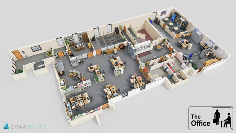 The-Office-US-3D-Floor-Plan-Drawbotics-4K