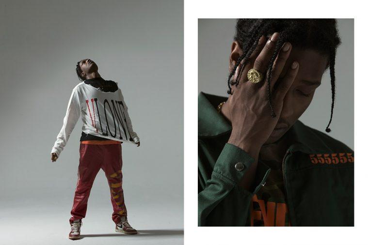 A$AP Rocky i VLONE (Foto: Kenneth Cappello/Hypesnobiety)