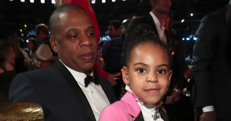 Blue Ivy havde et Prince-stiløjeblik ved Grammy Awards