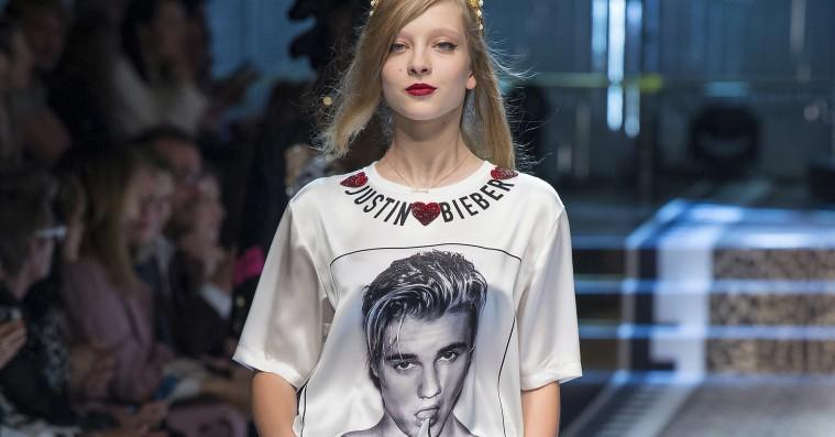 Dolce & Gabbana er vilde med Justin Bieber