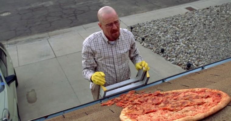 'Breaking Bad's skaber forklarer den legendariske pizzascene: Derfor er pizzaen ikke slicet
