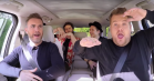 James Corden har det for vildt i Carpool Karaoke med Take That