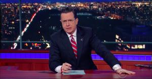 Stephen Colbert genopliver elsket segment i skarpt Donald Trump-indslag