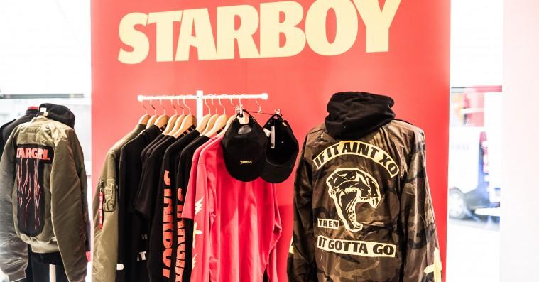 Sådan så det ud, da The Weeknds popup-shop indtog København