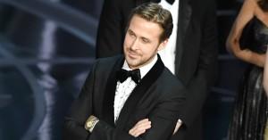 Ryan Gosling røber, hvorfor han fnes gennem Oscar-skandalen