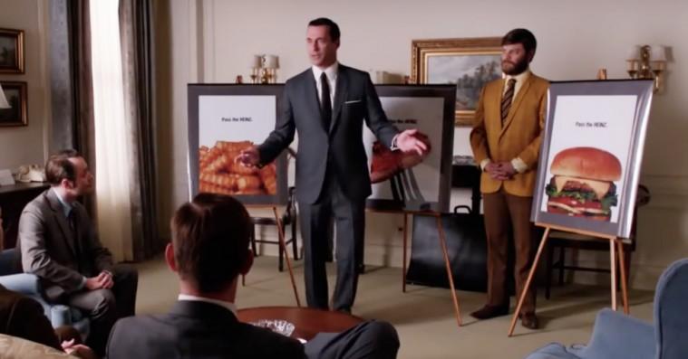 Tak til Don Draper: Ketchup-giganten Heinz adopterer et 'Mad Men'-slogan i ny kampagne