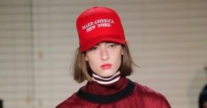 Du kan få fingre i anti-Trump-cap'en, der stjal opmærksomheden under modeugen i New York