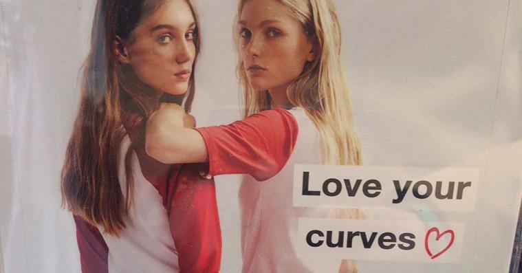 Zara laver pinlig 'love your curves'-kampagne
