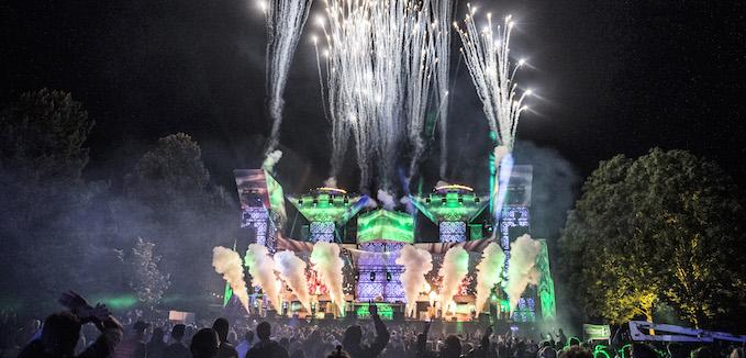 Magixbox-scenen hvor især de elektroniske artister optræder.