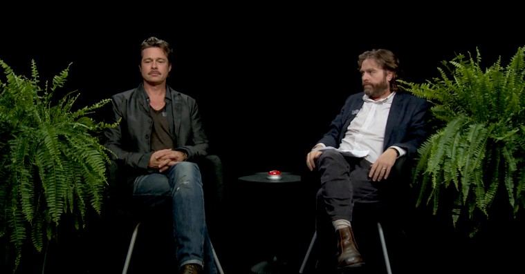 Zach Galifianakis' uhyre akavede talkshow 'Between Two Ferns' bliver til en spillefilm