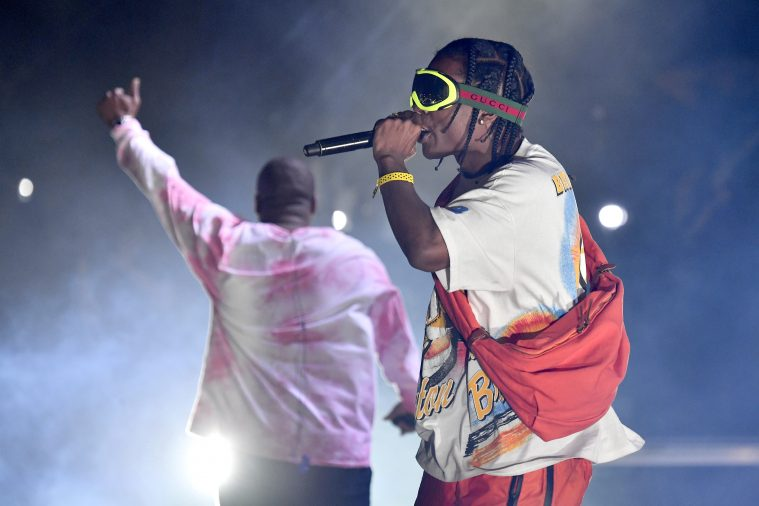 Schoolboy Q og ASAP Rocky. Foto: Frazer Harrison/Getty Images.