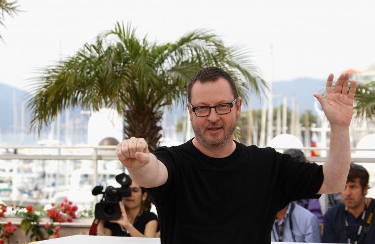 Lars von Trier under Cannes-festivalen i 2011.