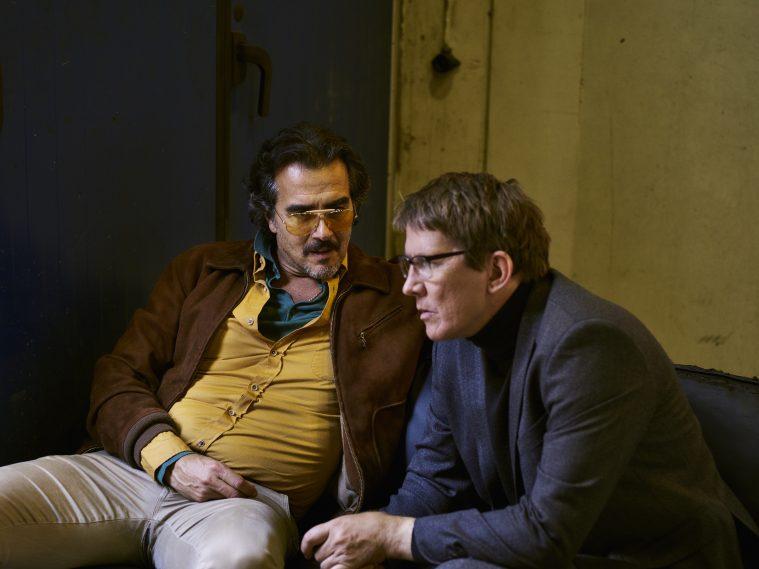 Rafael Edholm, som også har været med til at skrive serien, og Thomas Bo Larsen