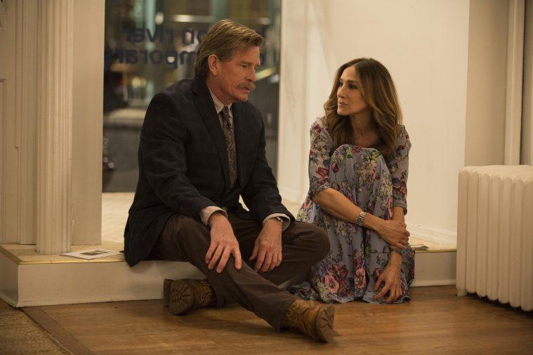 Sarah Jessica Parker og Thomas Haden Church i 'Divorce'