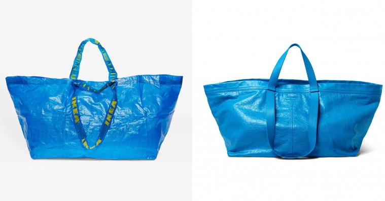 Ikea-designer har et perfekt comeback til Balenciaga-kopi