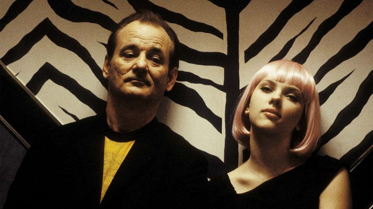Bill Murray og Scarlett Johansson i 'Lost in Translation'.