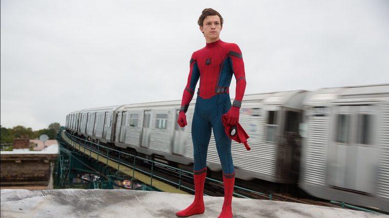 Tom Holland som Spider-Man i sommerens 'Spider-Man: Homecoming'.