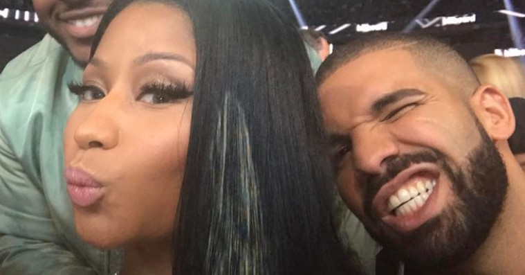 Young Money-ups and downs: Nicki Minaj og Drake småskændtes under Billboard Music Awards