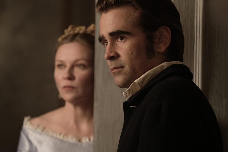Kirsten Dunst og Colin Farrell i 'The Beguiled'.