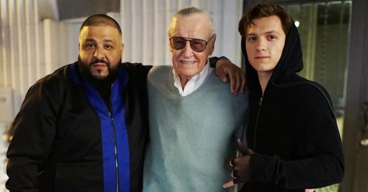 DJ Khaled lander en rolle i 'Spider-Man: Homecoming' med Stan Lee