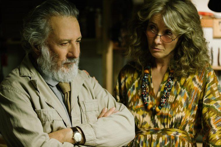 Dustin Hoffman og Emma Thompson i 'The Meyerowitz Stories'. Der foreligger desværre ikke billeder af Bruno.