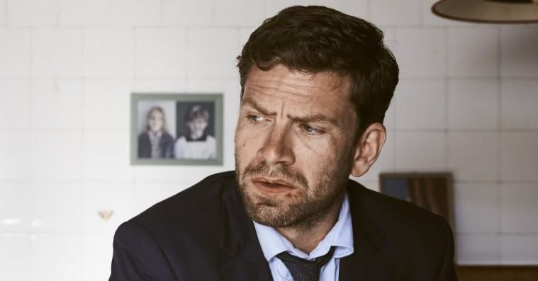 Nikolaj Lie Kaas som Carl Mørck i den tredje 'Afdeling Q'-film, 'Flaskepost fra P' fra 2016