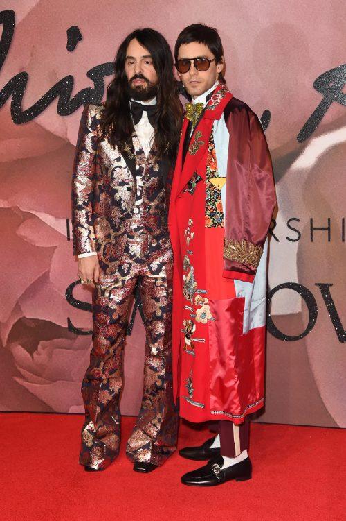 Alessandro Michele og Jared Leto til The Fashion Awards i London sidste år