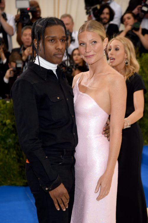 ASAP Rocky og Gwyneth Paltrow sammen på den røde løber
