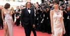 Rød løber: Høje slidser i Cannes –og Bella Hadids uheld