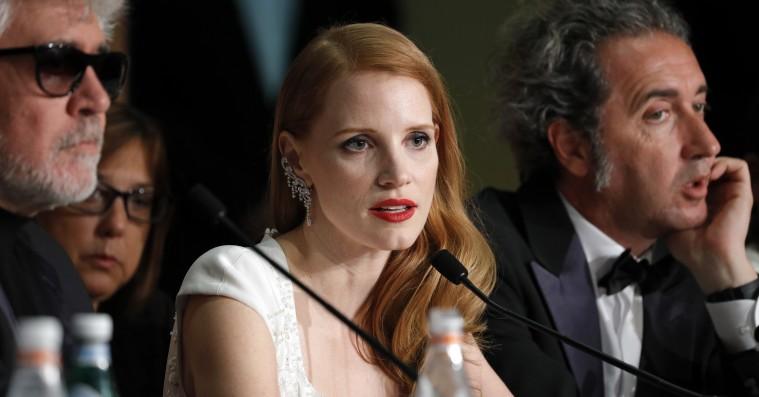 Jessica Chastain »alarmeret« over kvindeskildringerne under Cannes-festivalen