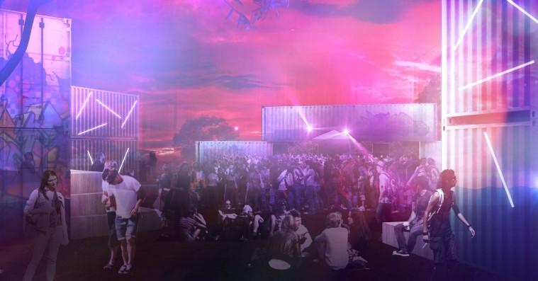 Roskilde Festival afslører ny festscene i camping Øst –erstatter programmet på skatescenen