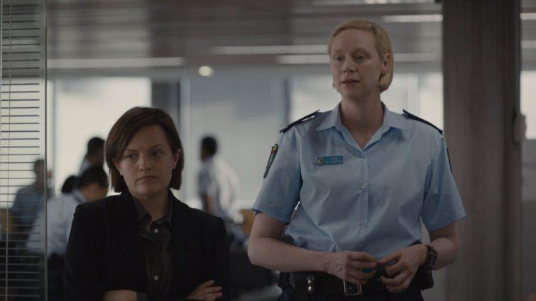 Elisabeth Moss og Gwendoline Christie i 'Top of the Lake' sæson 2